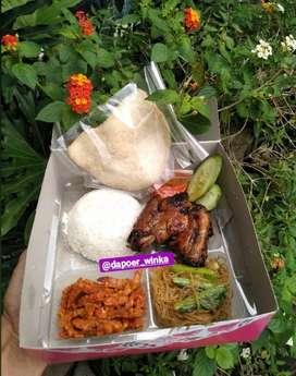Paketan Nasi Boxs/kotak ( siap antar )
