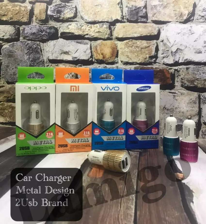 Car Charger 2usb 2.1A 0