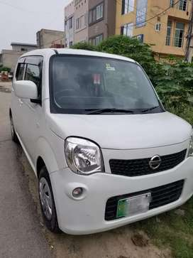 total orignal condition nissan moco perl white cloure eco idol stop