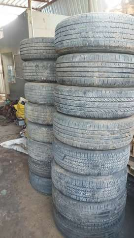 TYREs/OLD TYRES/ALLOY WHEELS