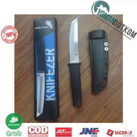 17T KNIFEZER Pisau Self Defense Knife Survival Tool Cold Steel