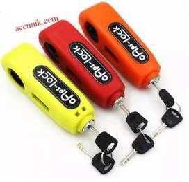 Gps-Lock kunci motor anda dengan aman