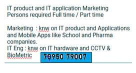 IT School Application and Apps marketing persons and IT hardware Eng