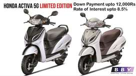 Honda Activa 5G Lowest DP and Rate of Interest