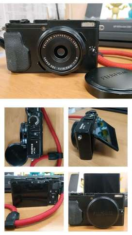 Fujifilm x70 kamera