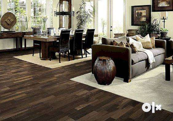 High Quality Exotic Wooden Flooring - Starting from Rs. 75 per sqft 0