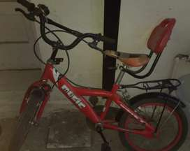 4 yrs old bicycle good for 5yrs to 8yrs old kid.