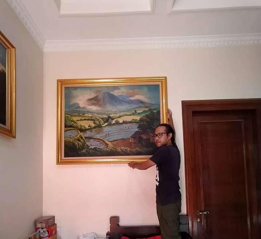Lukisan Maestro /Legendaris Indonesia karya Abdullah SR 0