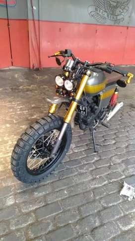 Yamaha Scorpio scrembel jap style