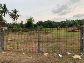 Jual Tanah YIA di Jl Raya Wates Purworejo dekat Bandara Jogjakarta