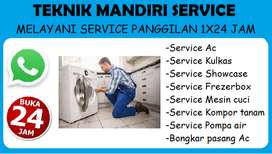Service Kulkas, Frezerbox, Mesin cuci, Pompa air - Bongkar pasang Ac