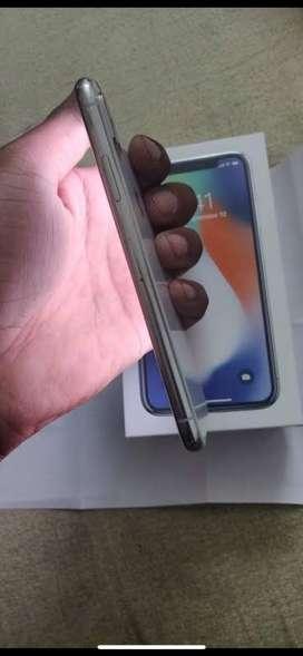Apple iPhone X 64 Silver 3 month warranty
