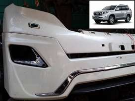 Front Genuine Original Bumper With Extension Bodykit Toyota Prado 2014