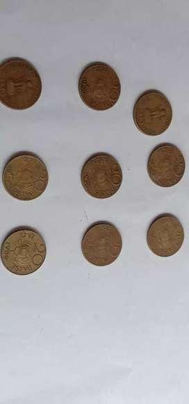 Coins 20paise