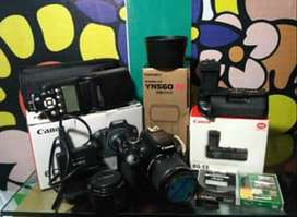 Kamera Canon  DSLR 600d