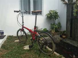 Dijual London Taxi Folding bike 20 inch, 6 Speed