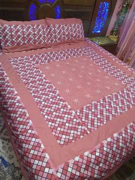 Export quality fabric bed sheets