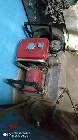 honda generator 1.5 kw starting petrol with kerosine