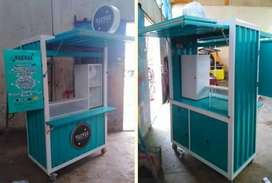 Booth Semi Container Murah Full Set