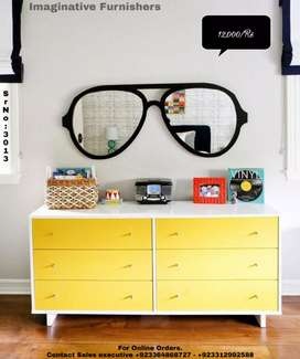 Glasses Wall Mirror
