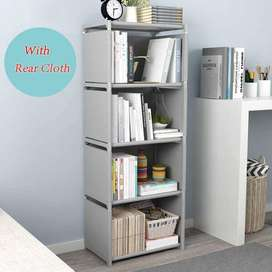 4 Floor FurnCentral Metal Open Book Shelf