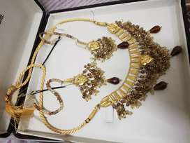 Real Gold set 22 karat brand new latest design