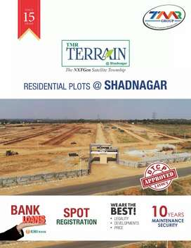 DTCP Approved Layout for Sale in Shadnagar at TMR Terrain