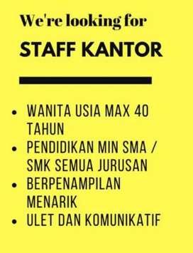 Lowongan Kerja Staff marketing