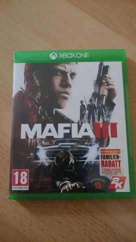 Xbox one game Mafia 3
