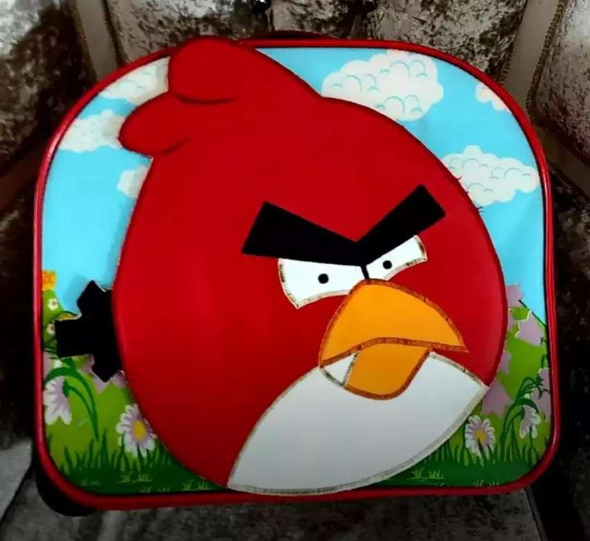 Tas Travel Anak Angry Bird Original Ya Moms kondisi Like New 0