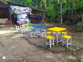 Set  meja  kursi cafe dan warkop