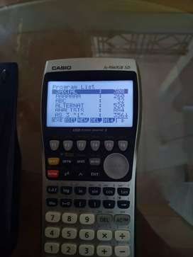 Kalkulator program Casio fx 9860 g II sd
