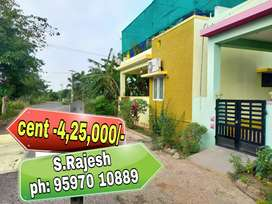 *IT companies* near Dtcp approved plots for sale at saravanampatty