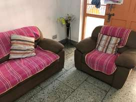 Mobel brand sofa set in good condition.