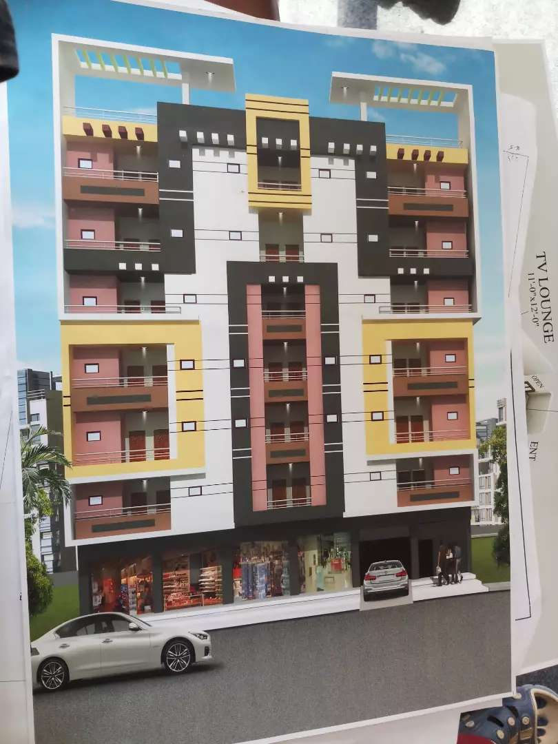 Booking now 2bed dd ka luxury flat Quetta town society sector 18A 0