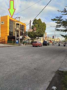 Disewakan RUKO 3 LT - 40 Jt/Tahun -Simpang Sunggal Sei Sikambing Medan