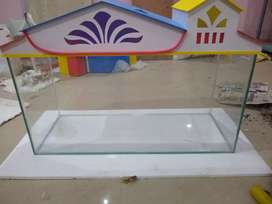 3 ft tank with cover(brand new)