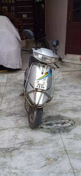 Tvs scooty 2 years old
