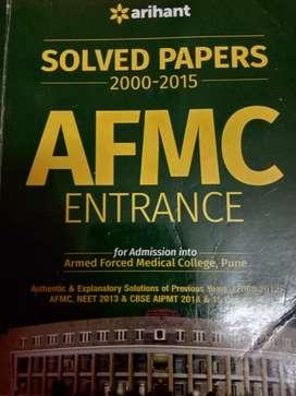 AFMC ENTRANCE EXAM SOLVED PAPER