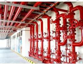 Pipe fitter for Fire Fighting & Chilled Water Line