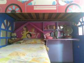 Kids bunk bed without mattress