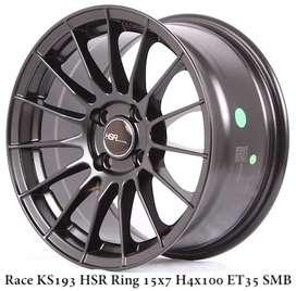 RACE KS193 HSR R15X75 H4X100 ET35 SMB