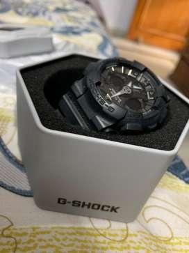 Casio g-shock black unisex watch.