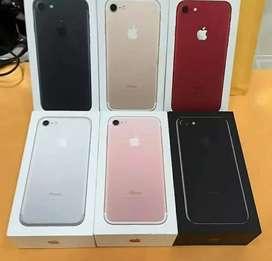 Iphone 7 128gb new 1 tahun  .