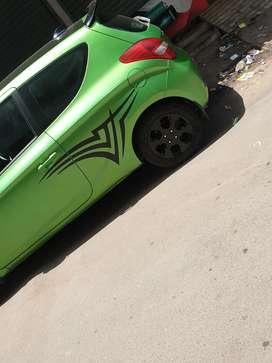 IMPORTED 2Door i20 from ( Dubai ). WRC Edition Original green color.