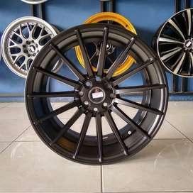 Cicilan Velg HSR Ring 17 Untuk Mobil Brio Jazz Yaris Etios Lancer Aveo