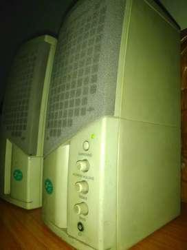 Usb speakers.