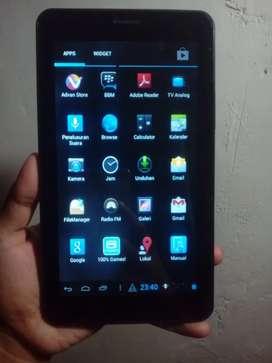 Tablet Advan e1c bisa kartu internet lancar
