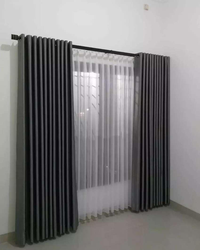 Hordeng gorden gordyn korden series-55294 dekorasi polos murah brkelas 0