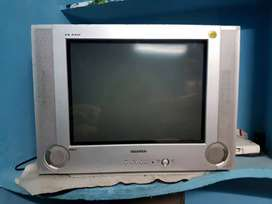 Samsung T.V+hathway set top box+remotes=>all in excellent condition